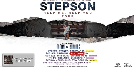 Stepson 'Help Me, Help You' Album Launch tickets