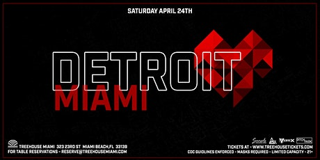Detroit Love Presents Carl Craig + Stacey Pullen @ Treehouse Miami tickets
