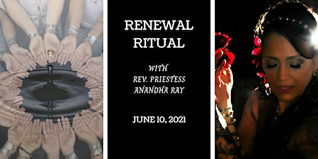 Renewal: Releasing that which no longer serves you tickets