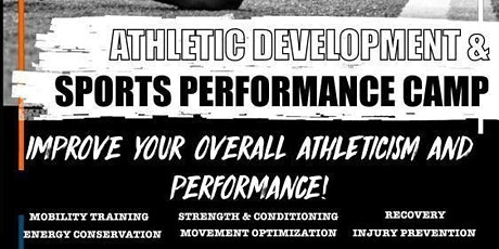 Athletic Development & Sport Performance Camp tickets