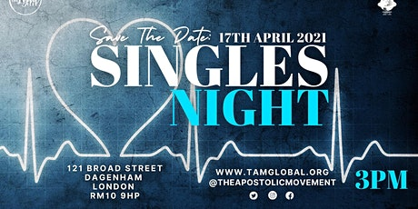 Singles Night tickets
