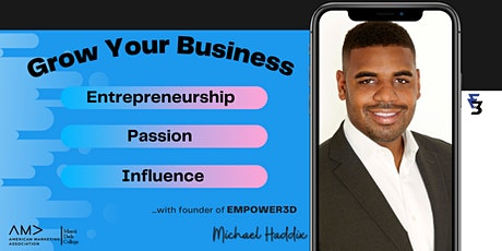 Entrepreneurship, Leveraging Your Passion, & Building Your Brand tickets