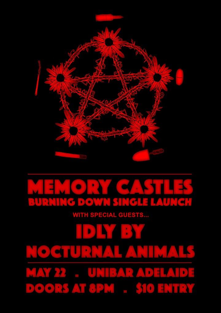 Memory Castles 'Burning Down' Single Launch image