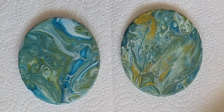 Acrylic Pour Coasters at Device Brewing w/Carrie! tickets