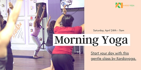 Morning Yoga by Kardioyoga tickets