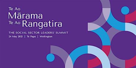 Te Ao Mārama Te Ao Rangatira - The Social Sector Leaders' Summit tickets
