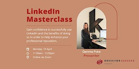 Dress for Success Workshop Series: LinkedIn Masterclass tickets