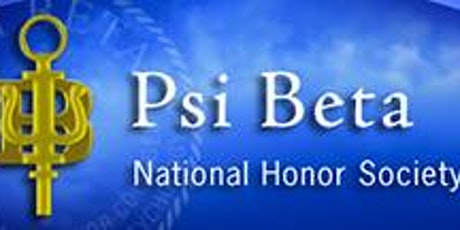 Psi Beta Honor Society - PCC Induction - Spring 2021 entradas