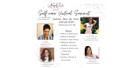 Self-Care Virtual Summit bilhetes