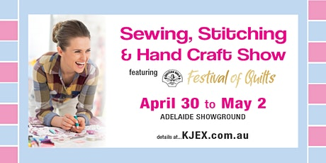Adelaide Sewing, Stitching & Hand Craft Show tickets