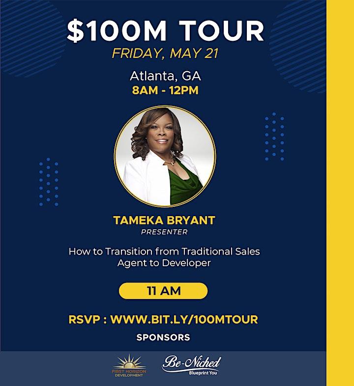THE $100 MILLION DOLLAR TOUR - ATLANTA, GA image