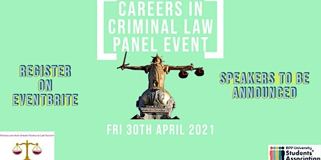 Careers in Criminal Law Panel Event tickets
