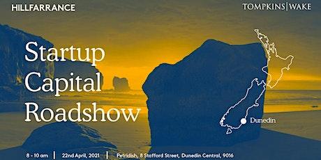 The Startup Capital Roadshow - Dunedin tickets