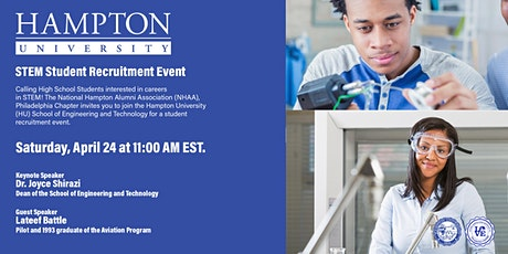 Hampton University School of Engineering and Technology Student Recruitment tickets