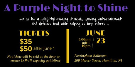 A Purple Night to Shine tickets