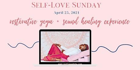 Self love Sunday  yoga + sound healing experience tickets