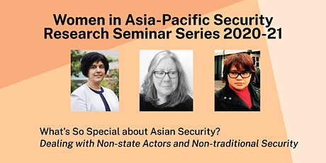 Women in Asia-Pacific Security Research Seminar Series tickets