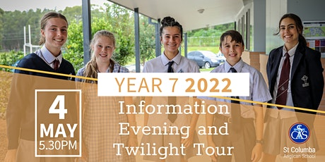 Year 7 2022 Information Evening and Twilight Tour tickets
