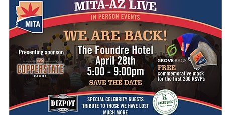 Mask up MITA! Arizona  Cannabis Business Networking tickets