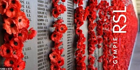 Anzac Day - Commemoration Service tickets