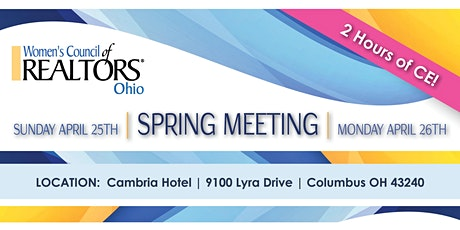 Spring Conference tickets