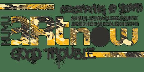 "NUMU Happy Hour : Reflecting on ArtNow 2021 ""Good Trouble"" tickets"