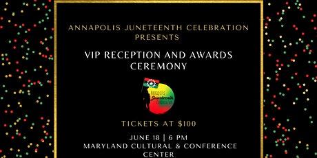 VIP Reception & Awards Ceremony tickets