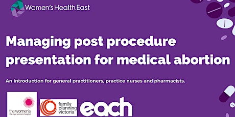 Managing post procedure presentation for medical abortion: an overview tickets