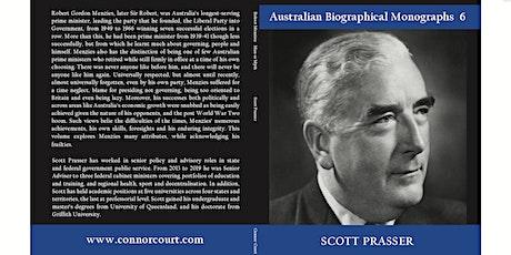 Launch of Robert Menzies: Man or Myth by Scott Prasser tickets