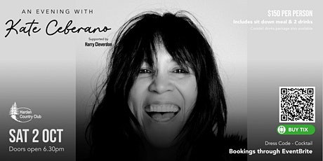 An Evening with Kate Ceberano tickets