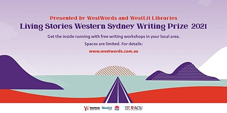 Living stories : Writing workshops tickets