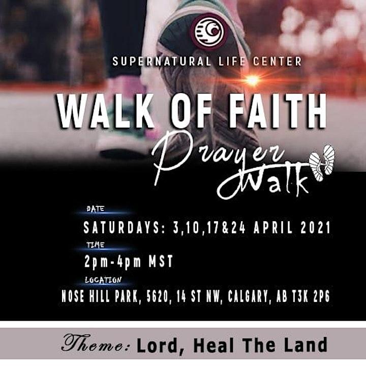 Walk Of Faith,Lord Heal The Land image