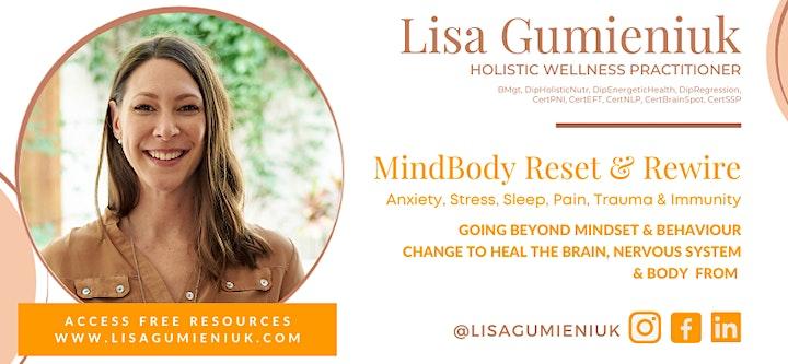 How to Reset Chronic Illness, Dis-ease & Immunity Workshop image