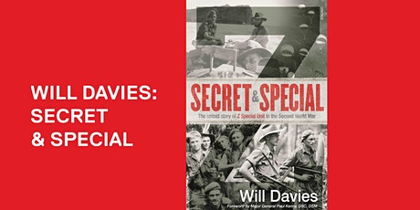 Will Davies: Secret and Special - Online tickets