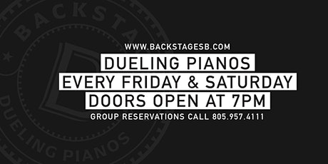 Backstage Dueling Pianos tickets