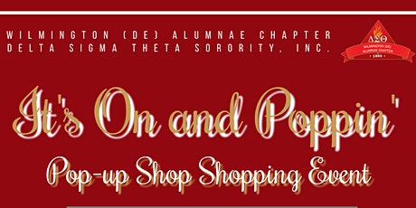 WAC DST Its On and Poppin' Pop-up Shopping Zoom Event tickets