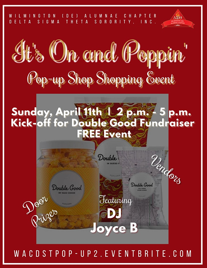 WAC DST Its On and Poppin' Pop-up Shopping Zoom Event image