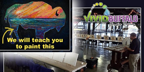 Bison Sunset Silhouette Paint Night at Buffalo RiverWorks tickets