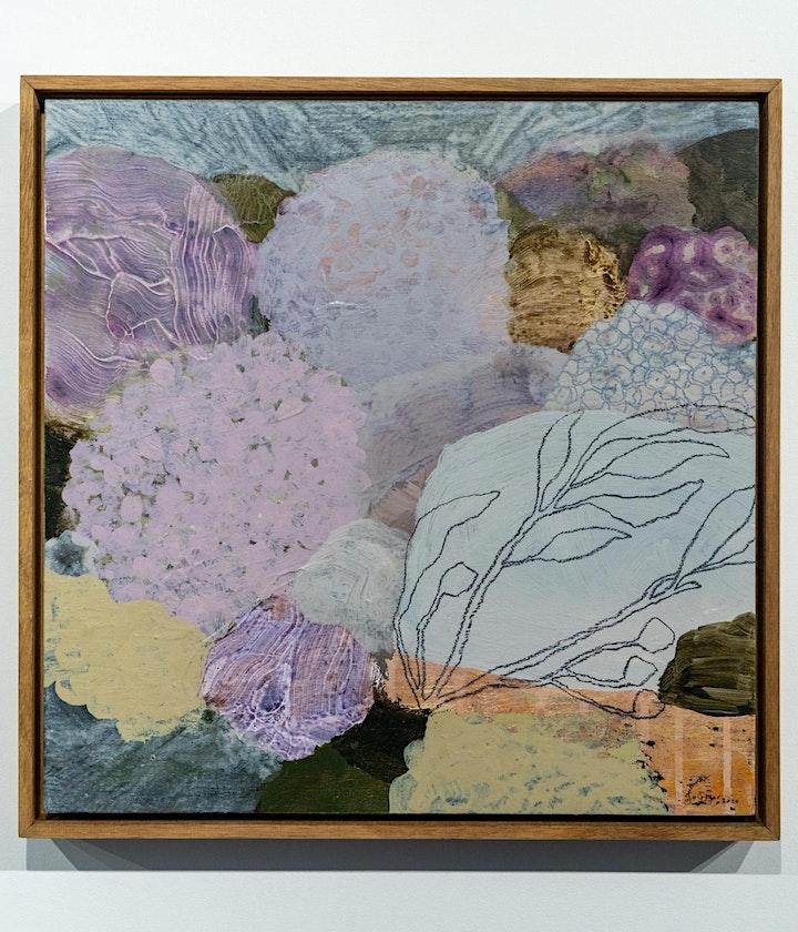 Wall Garden Art Exhibition Opening image
