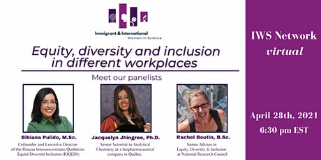 Equity, diversity and inclusion in different workplaces tickets