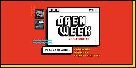 Open Week #ColegioMAP tickets