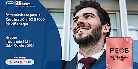 Certificación ISO 31000:2018 Risk Manager / Modalidad In Company - Perú entradas