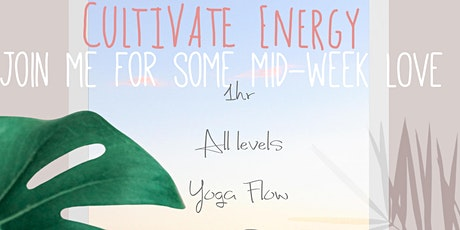 Cultivate Energy Wednesday Zoom tickets