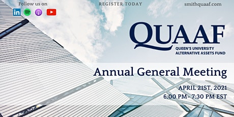 QUAAF Annual General Meeting tickets