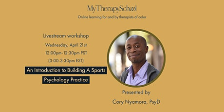 Introduction to Building A Sports Psychology Practice tickets