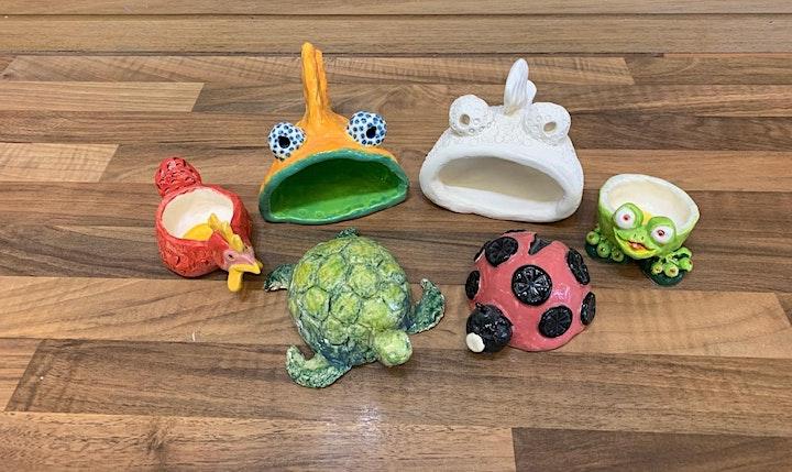 4 Weeks of Wellness - Pinch Pot Clay Workshop image