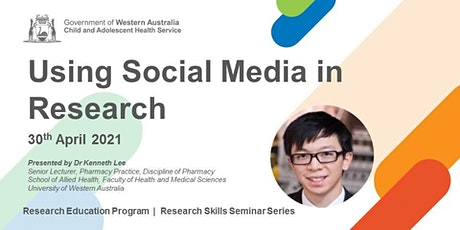 Using Social Media in Research -  30 Apr tickets