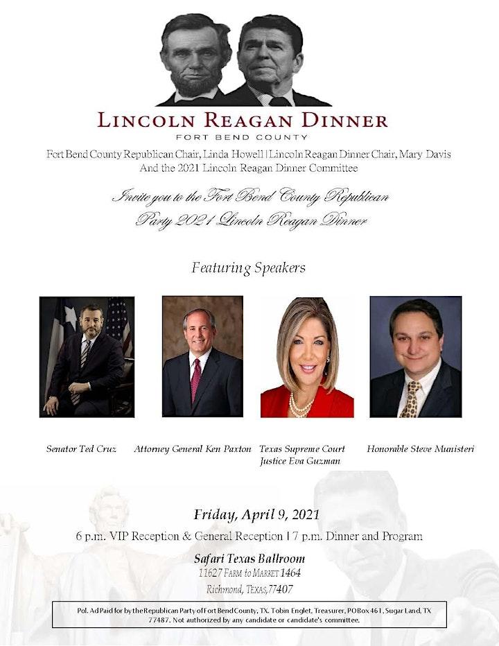 Lincoln Reagan Dinner image