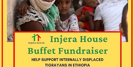 Injera House Buffet Fundraiser! tickets