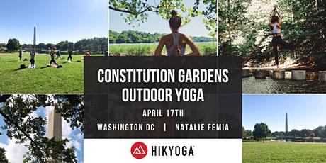 Outdoor Yoga at The Constitution Gardens with Hikyoga® DC tickets